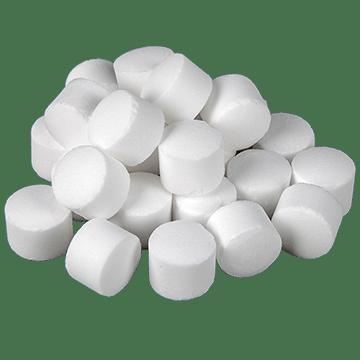 таблетирана сол за омекотители